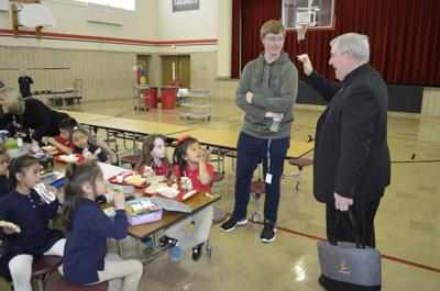 Listecki at John Paul II Academy
