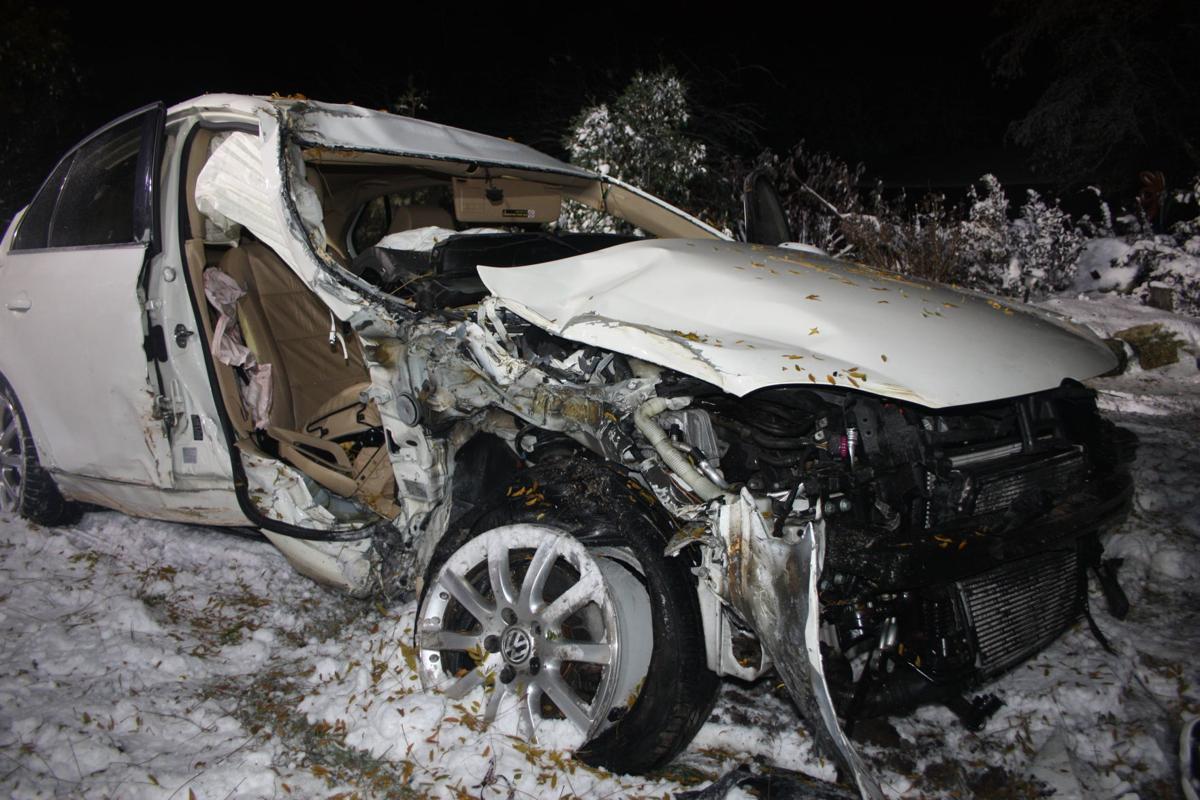 Crash at North Green Bay and Louise Lane