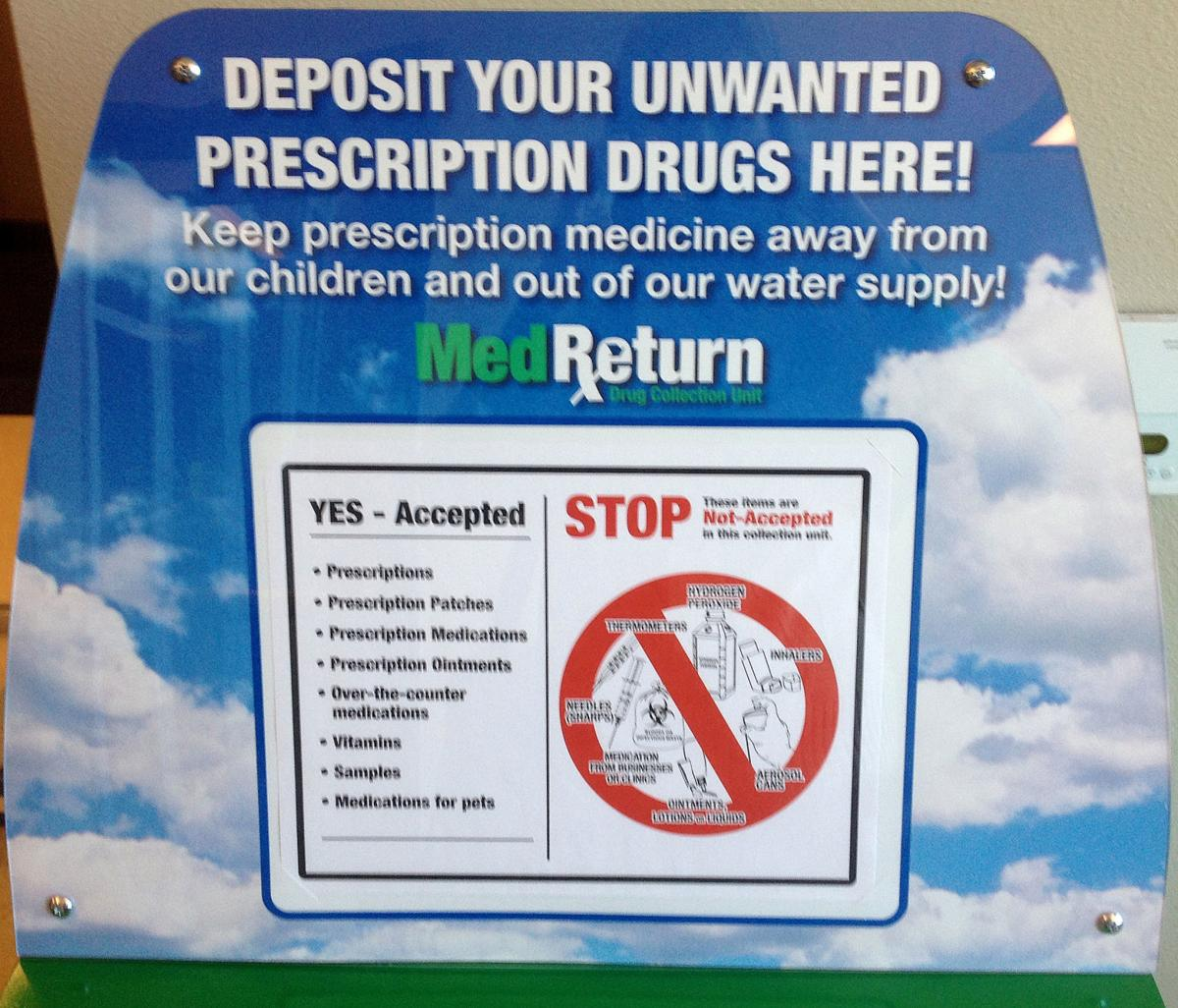 DRUG COLLECTION BOX