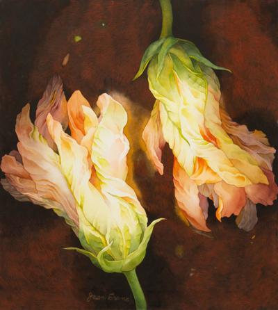 Dancing Squash Blossoms