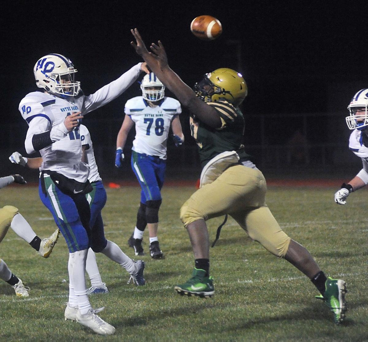Pressuring the quarterback