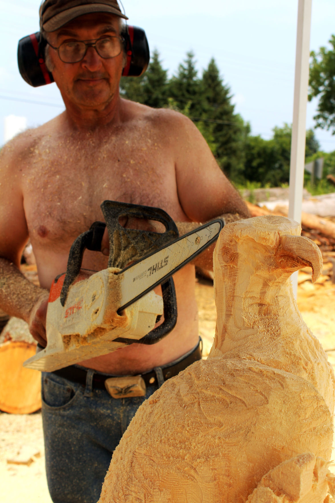 Dave Harbach — Chainsaw Carving