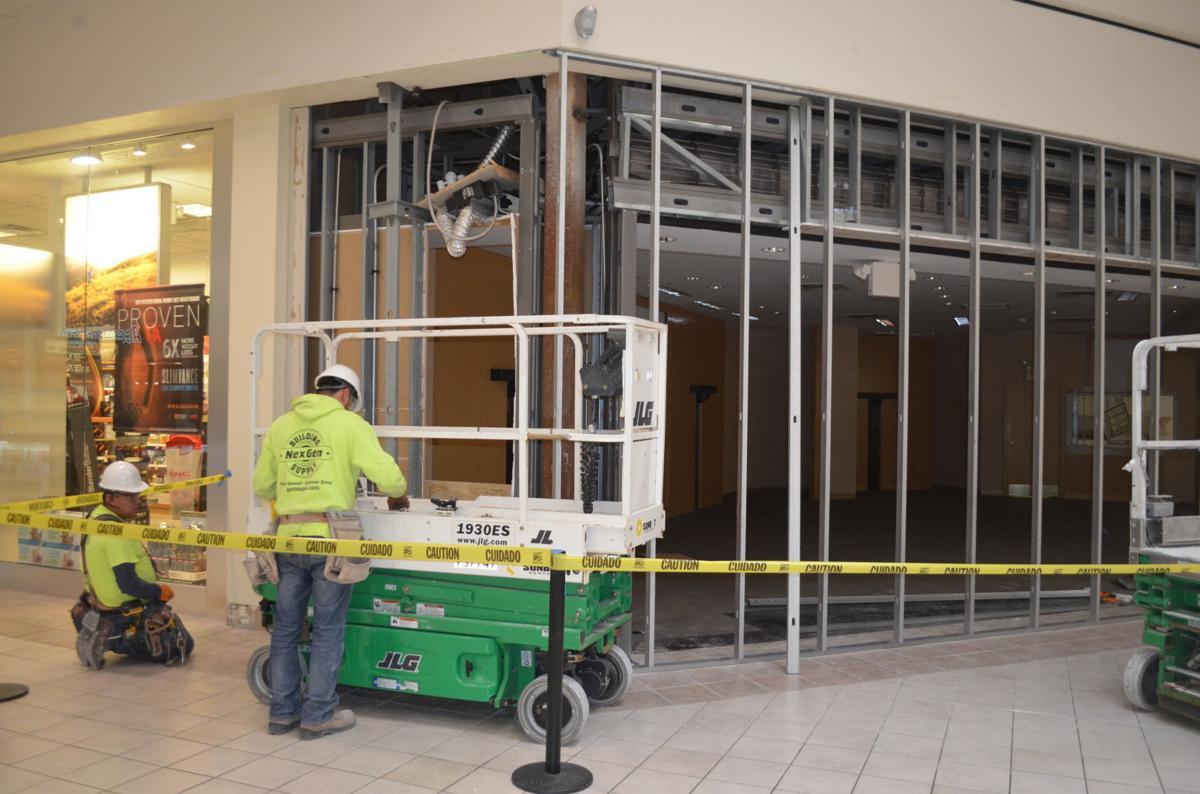 Regency Mall renovations
