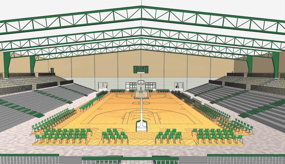 Oshkosh arena rendering