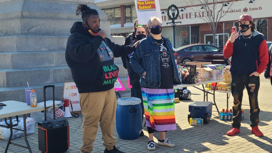 journaltimes.com: Solidarity demonstration on one-year anniversary of Breonna Taylor's killing held on Monument Square