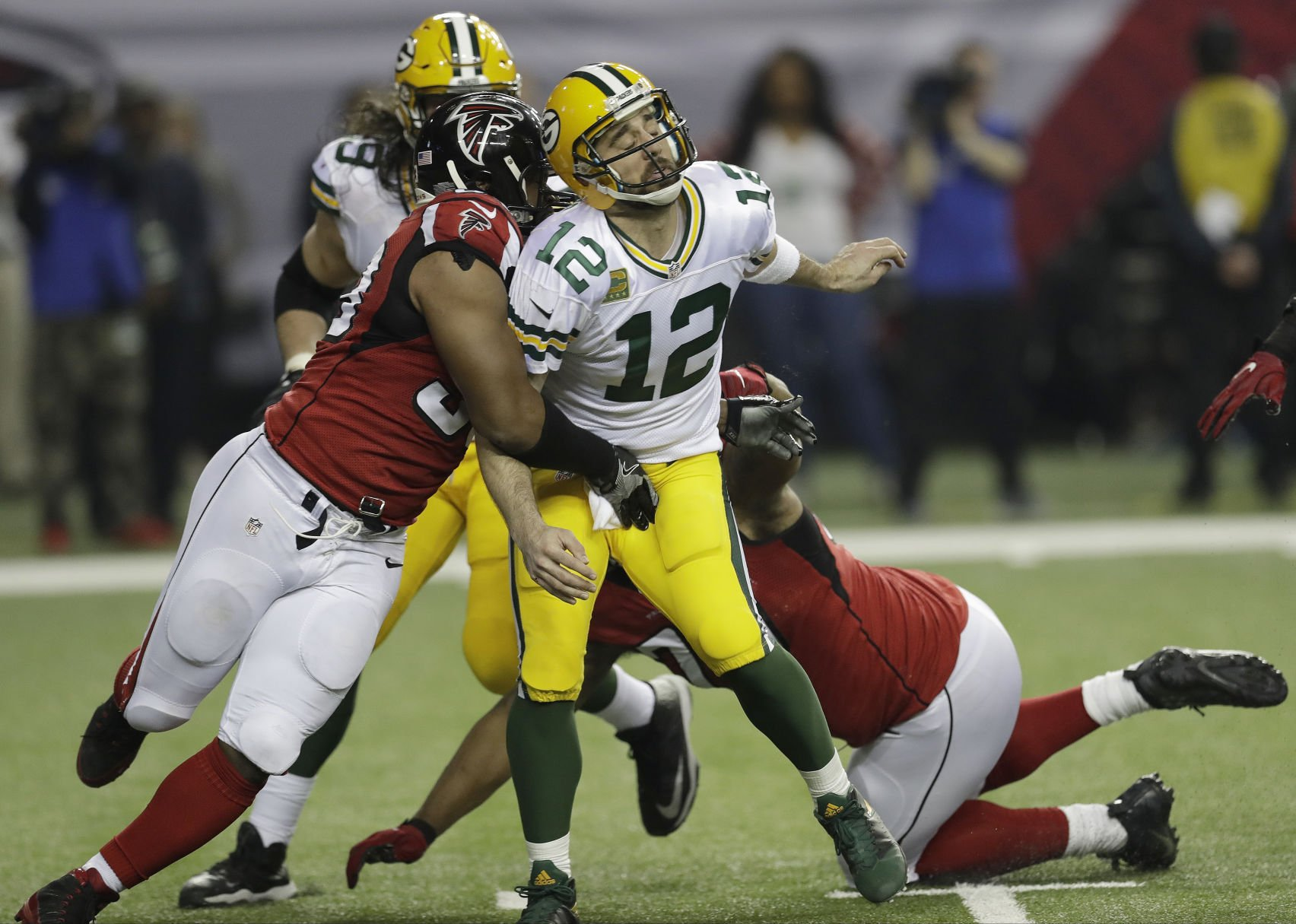 Ahmad Brooks will be badly missed by Green Bay Packers on Sunday