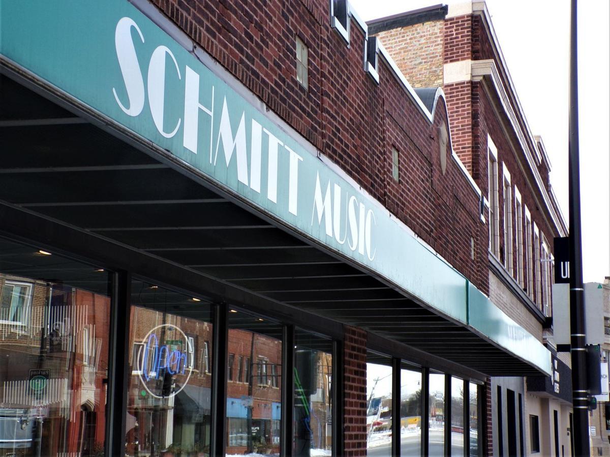 Front of Schmitt Music