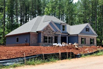 New Home Mortgage House Construction Real Estate stock WEB ONLY