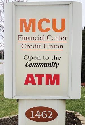 MCU Financial Center Sign