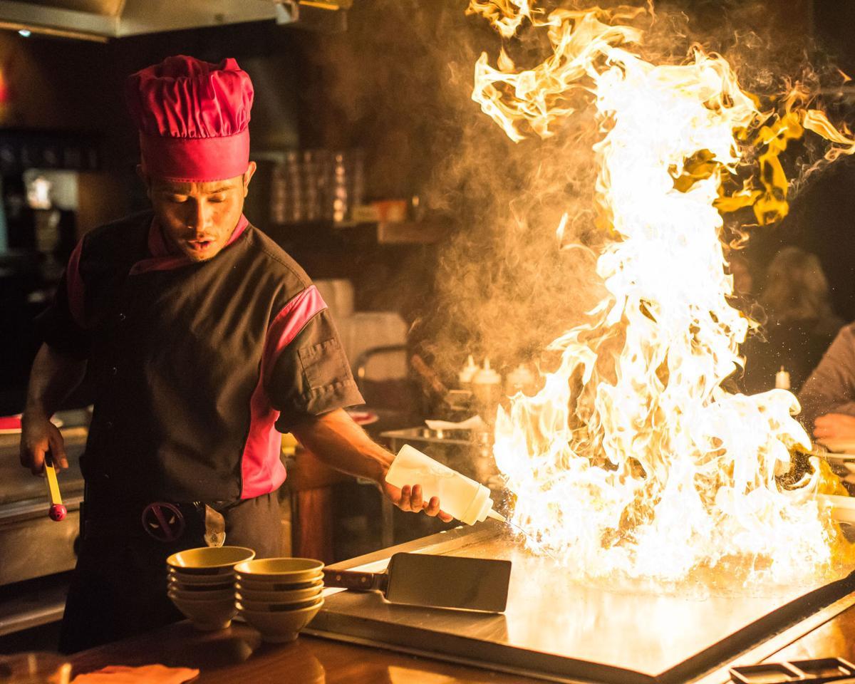 Shogun Japanese Steakhouse Sushi Dinner And Show
