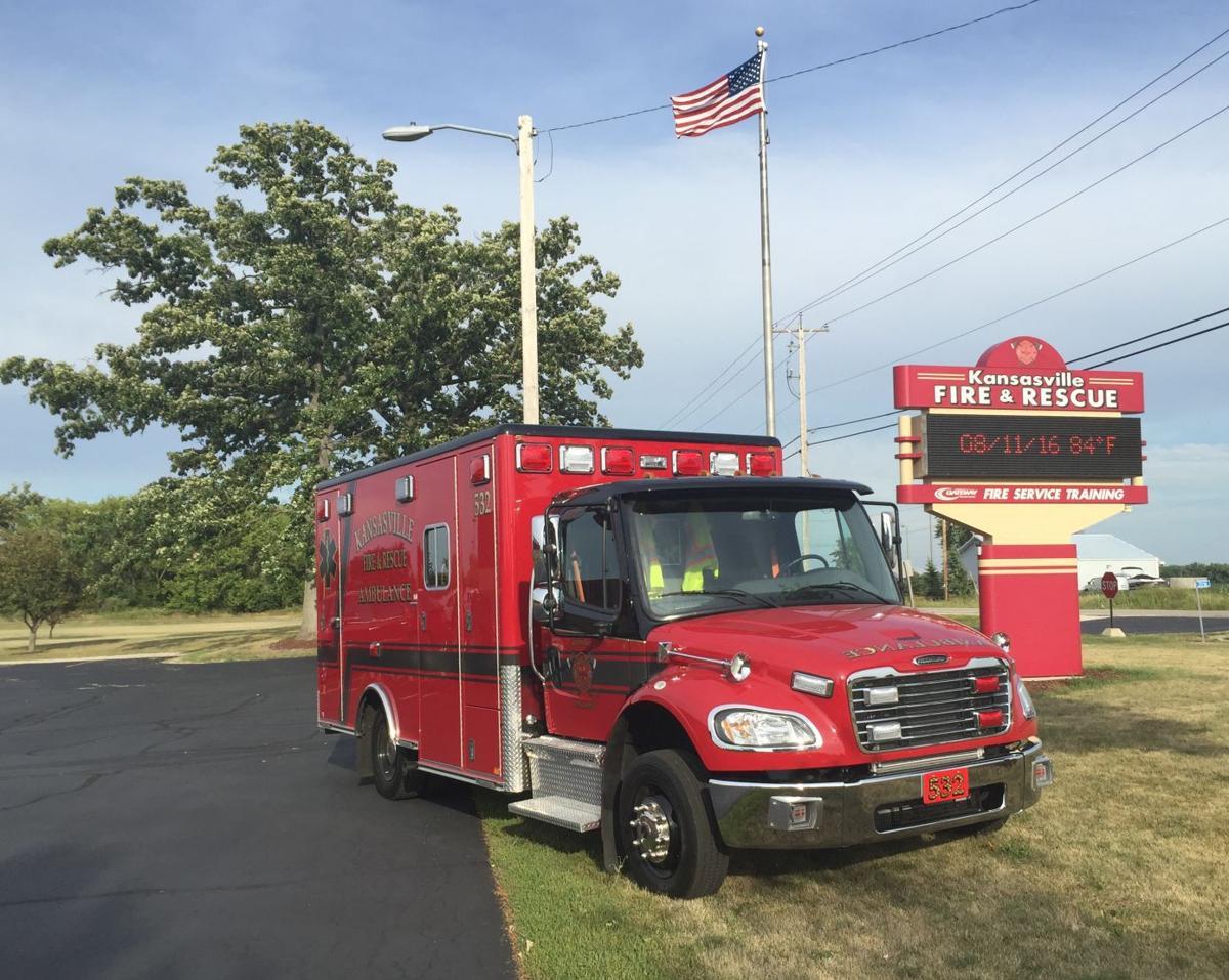 Kansasville Fire Department Ambulance