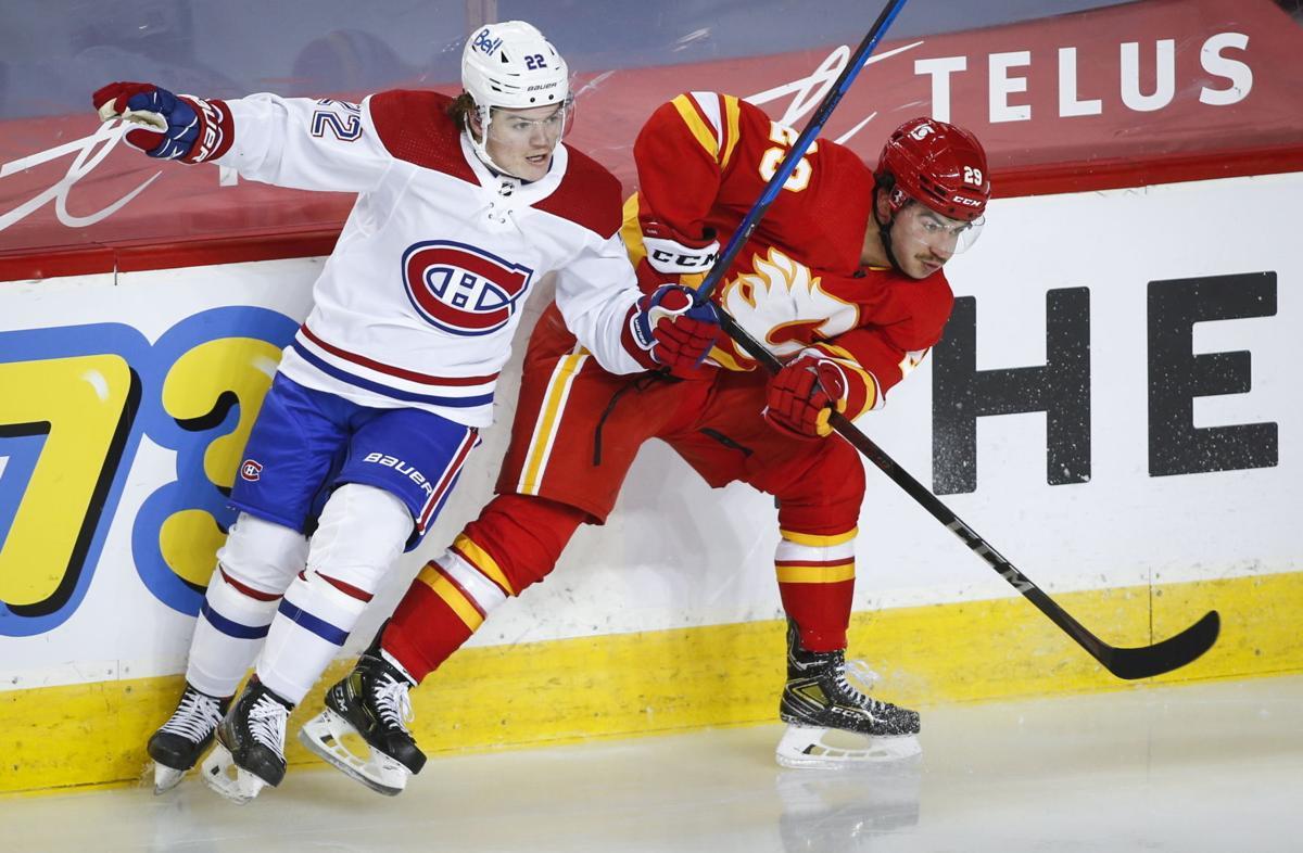 Canadiens Flames Hockey