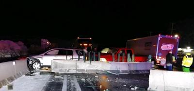 Crash on I-94