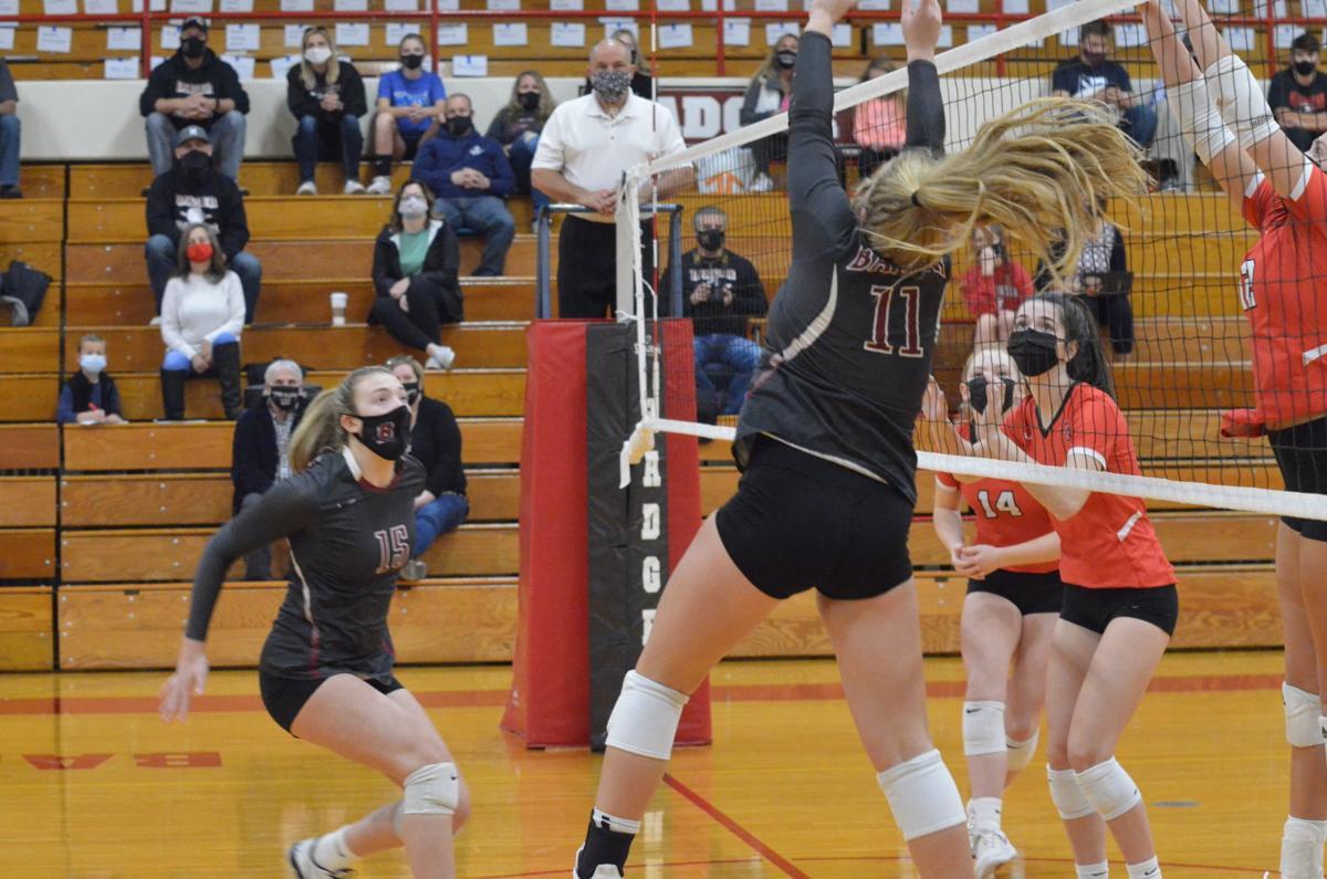 Union Grove vs. Badger girls volleyball 10.16.20