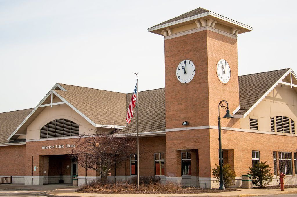 Waterford Public Library stock file photo