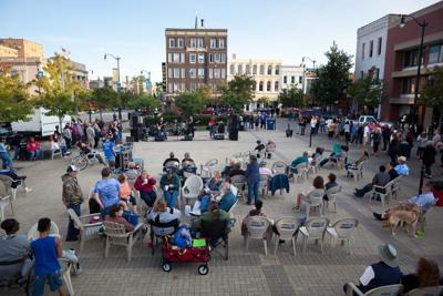 Monument Square music
