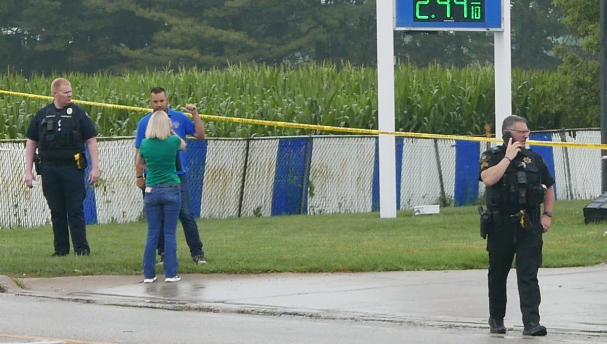 Shooting investigation at the Mobil station