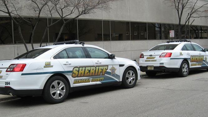 Racine man pulled from burning, crashed SUV after reportedly fleeing Kenosha deputies