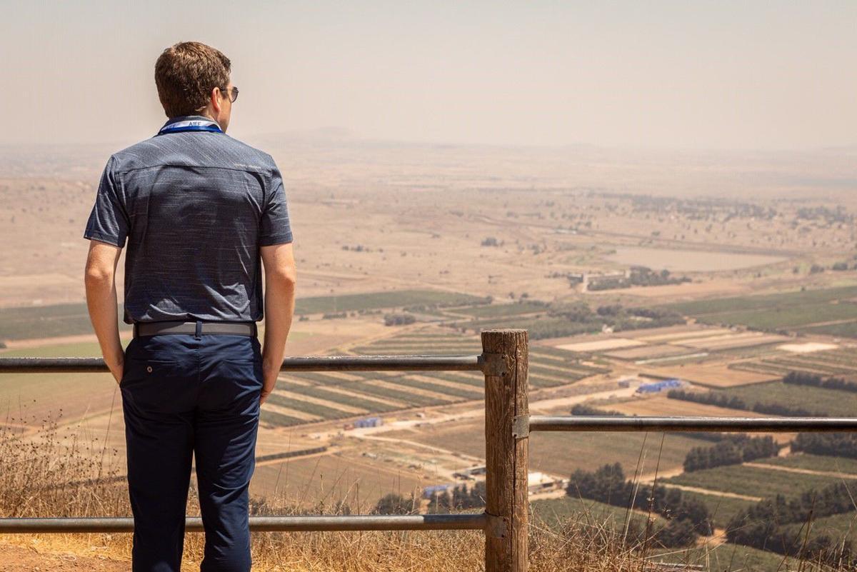 Steil on Israel, Syria border