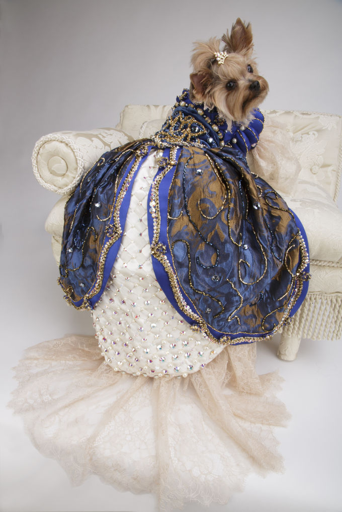 Millie's Royal Gown by Chien Coature