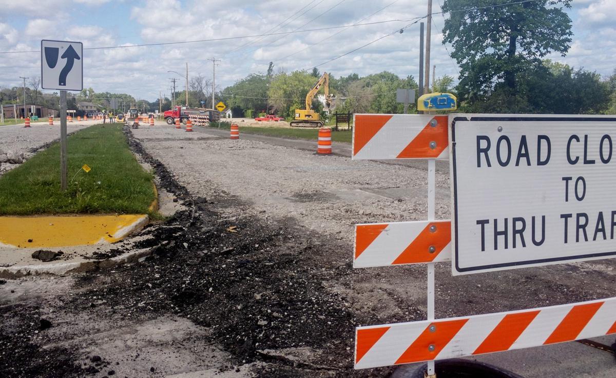 Highway 32 construction (copy)