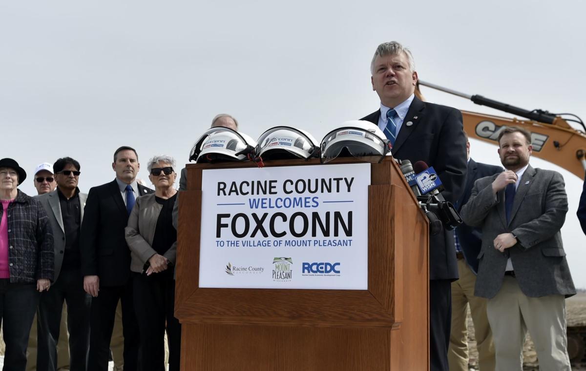 Foxconn Groundbreaking