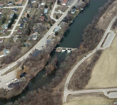 Rochester Dam draw down