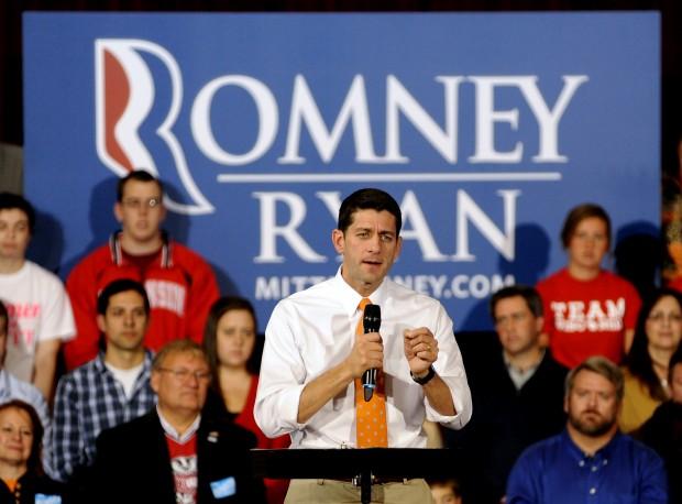 Paul Ryan visits Memorial Hall