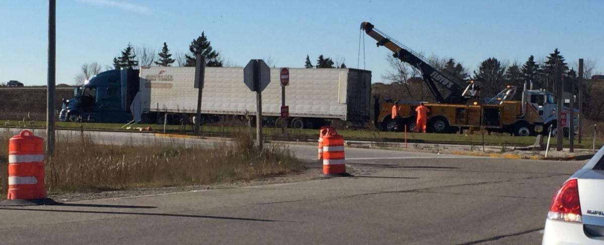 Crash at Highway 11 near interstate