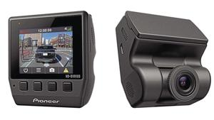 Name-brand dashcam that looks great: Pioneer ND-DVR100.