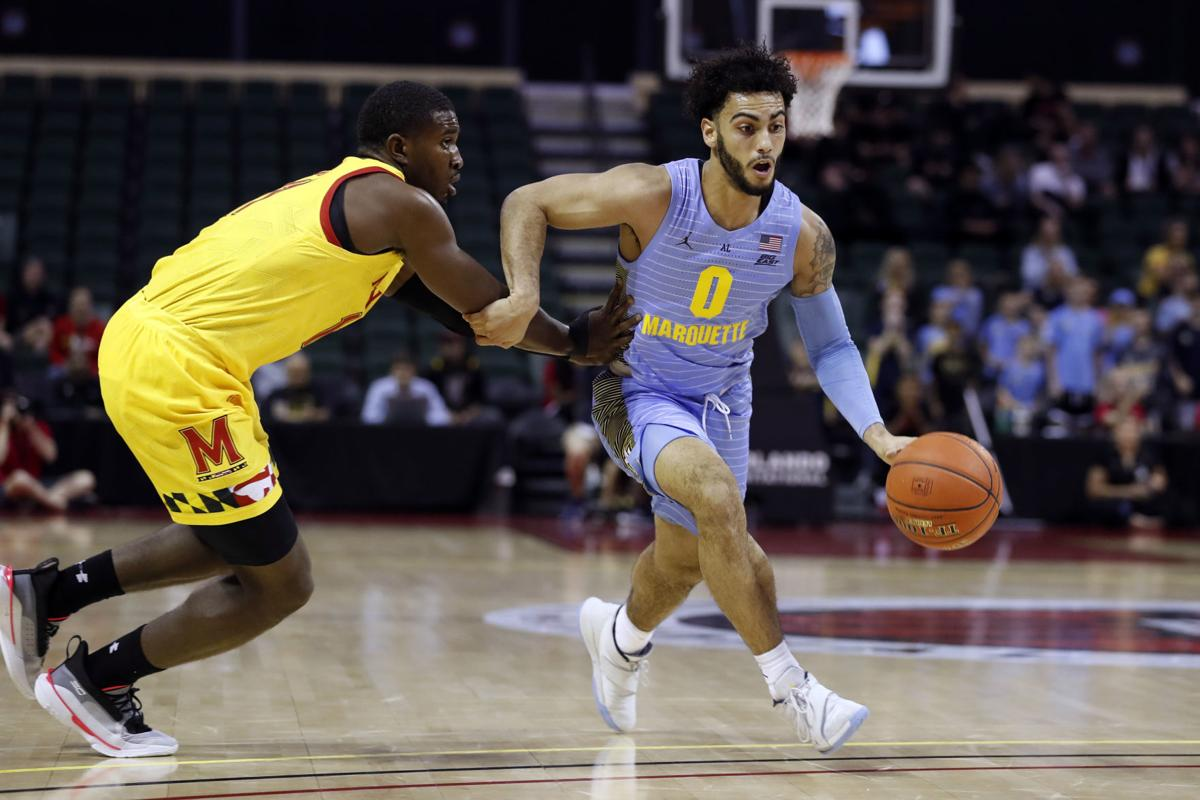 Maryland Marquette Basketball