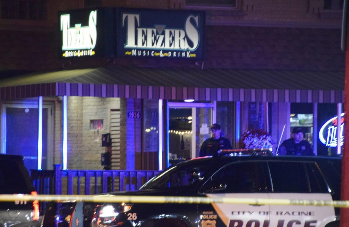 Person reported shot in apparent robbery at Teezers