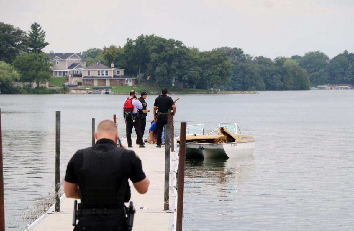 Browns Lake boating accident