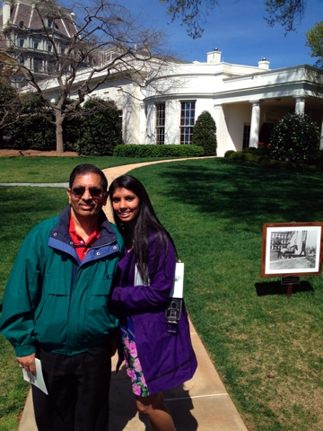 Racine woman is White House intern