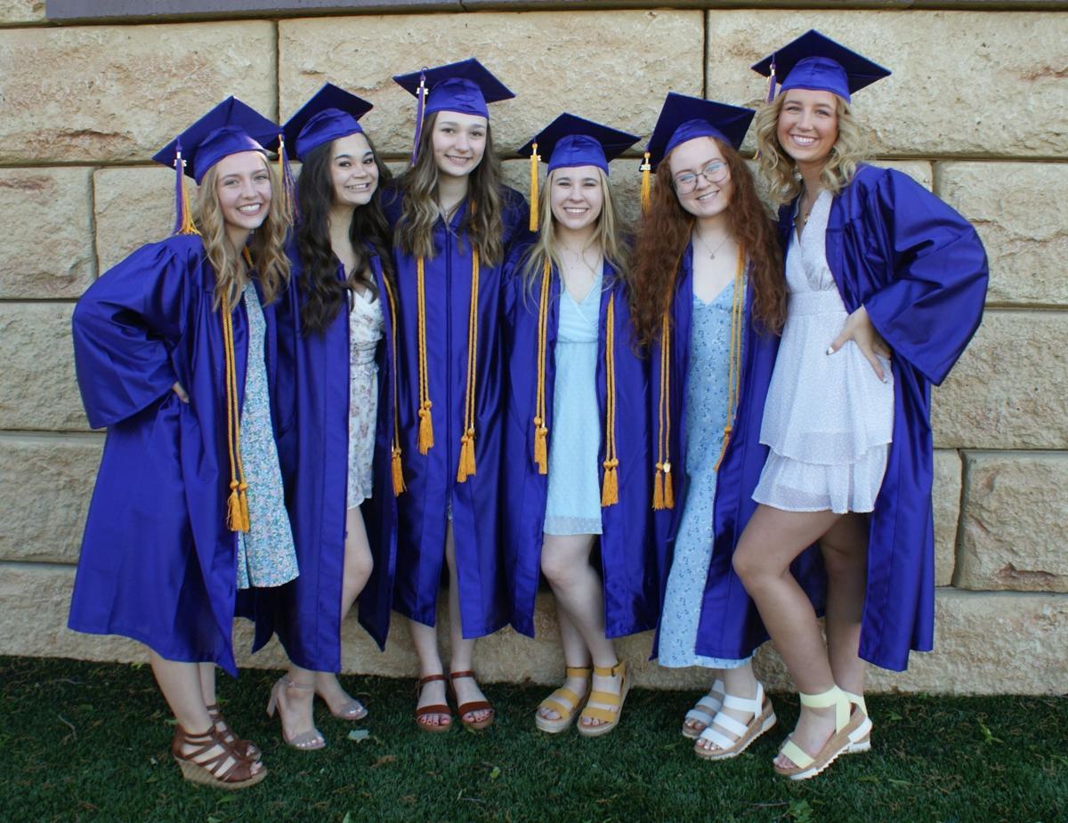 RLHS graduation girls