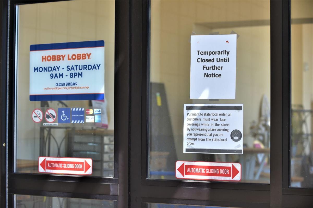 Hobby Lobby temporarily closed