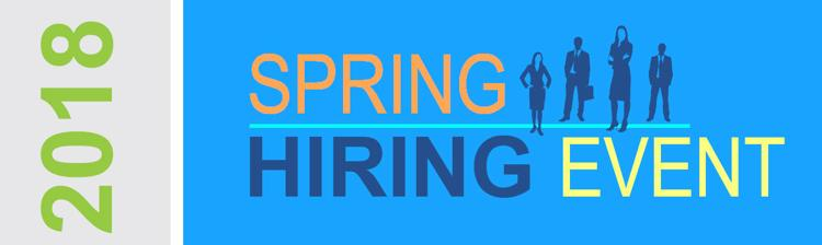 2018 Spring Hiring Event