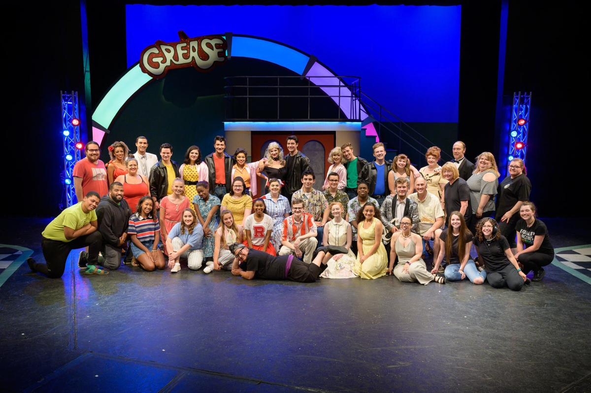 Cast and crew of 'Grease'