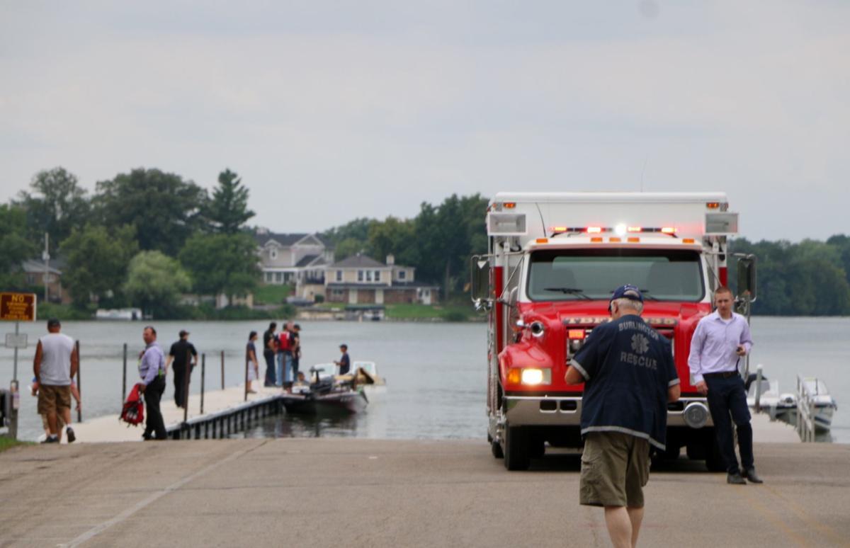 Brown's Lake collision
