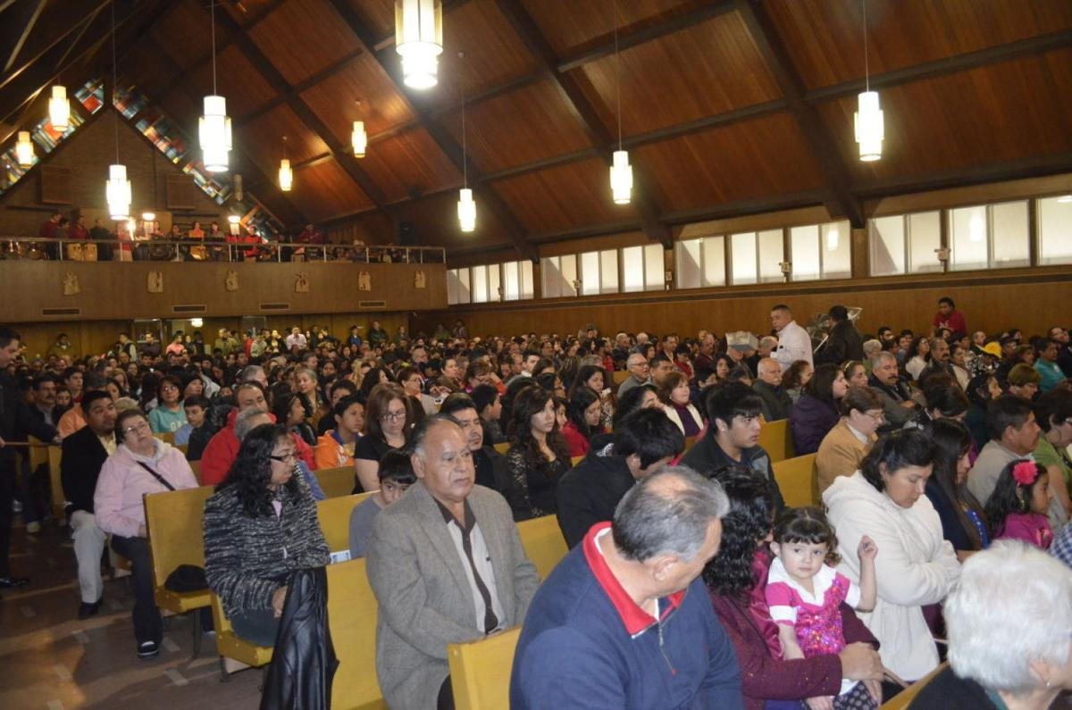 Last Mass at Cristo Rey 1
