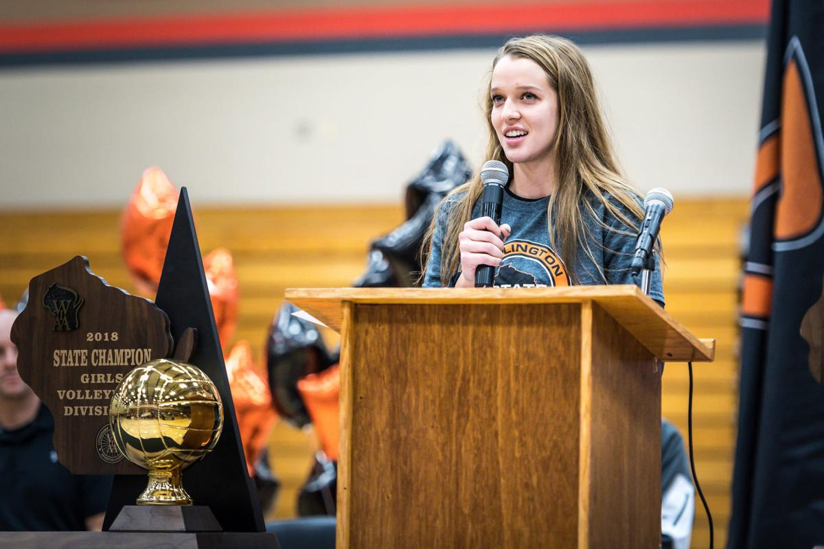 Lynch Burlington Wi >> All-County Girls Volleyball Player of the Year: Berezowitz sets strong example | Prep Sports ...