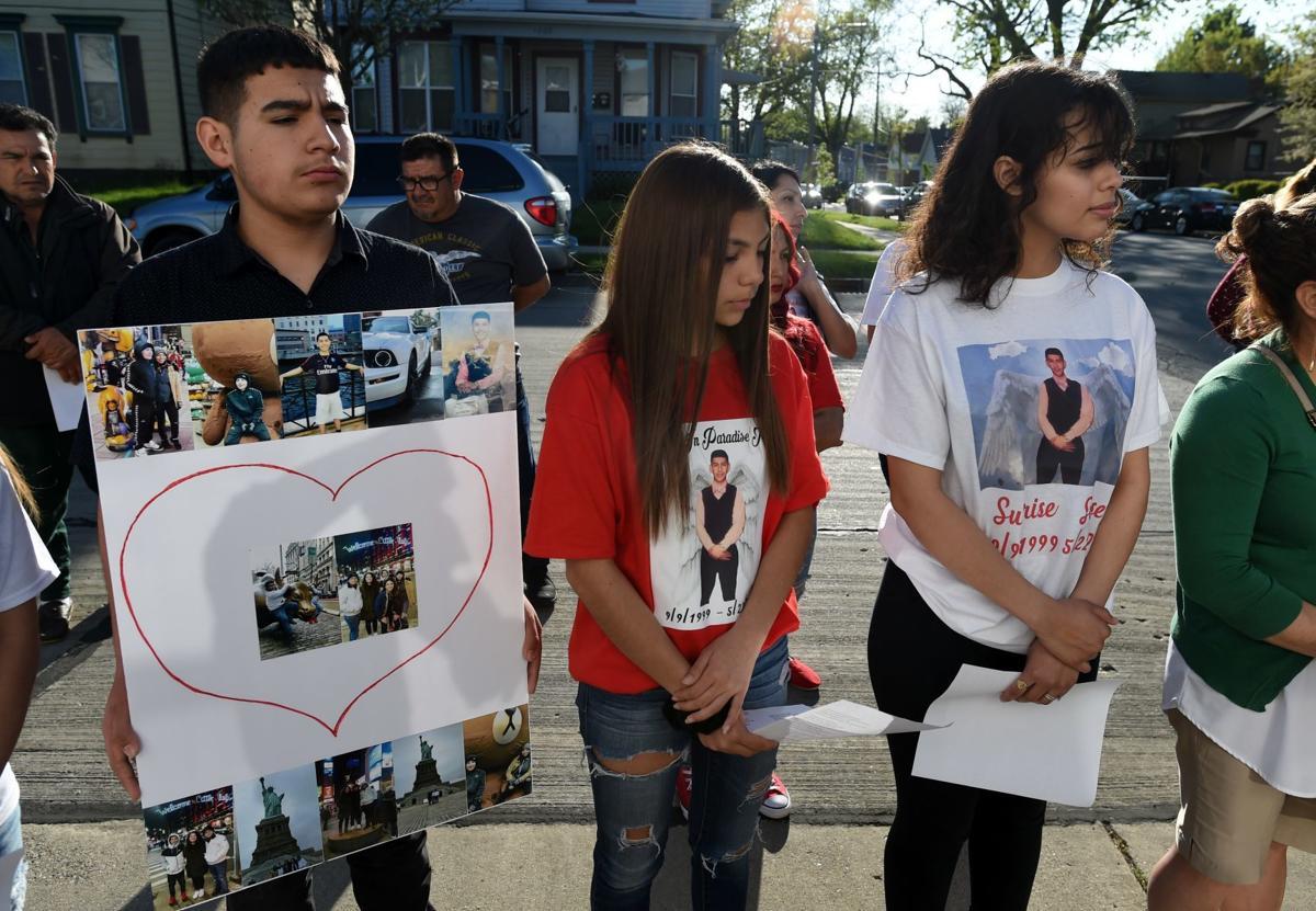 Vigil for Jose Angel Padilla, May 26