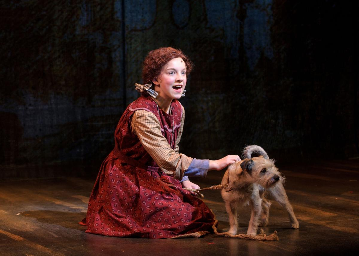 Skippy, as Sandy, in Skylight production of 'Annie'