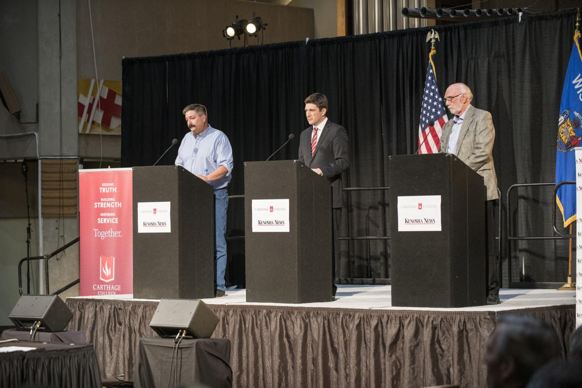 Candidates at Carthage College