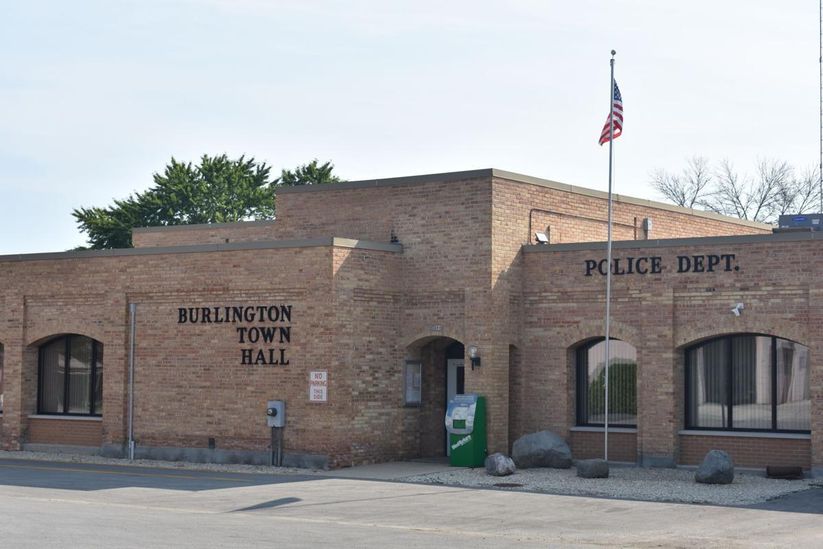 Burlington Town Hall and Police Dept.
