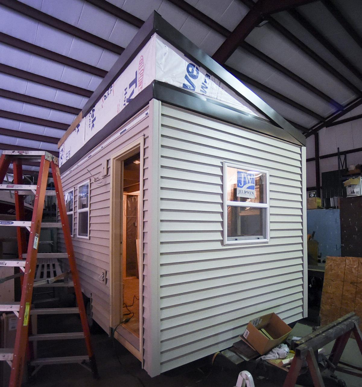 Tiny Houses For Homeless Vets Nonprofit Envisions