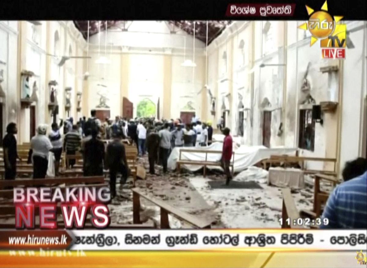 ADDITION Sri Lanka Church Blasts