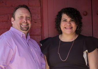 Eric Peterson and Jennifer Burnett