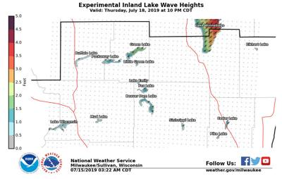 Weather Service launches inland lake forecasts for south