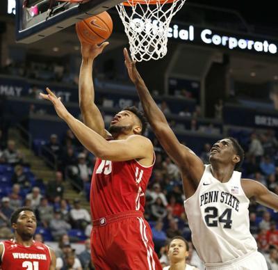 Wisconsin Penn St Basketball